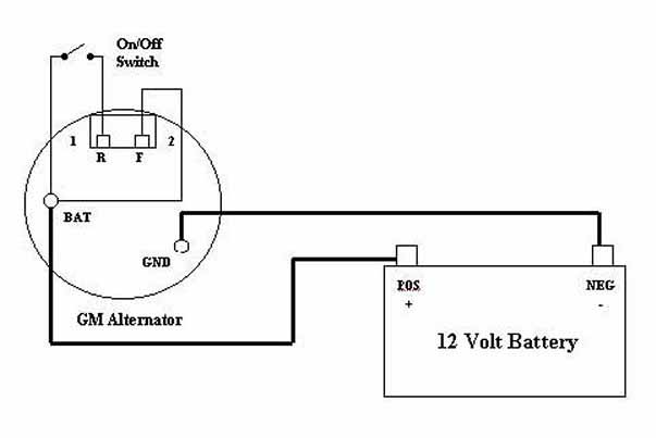 Gm Cs130 Alternator Wiring Diagram from www.webpal.org